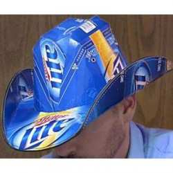 Beer Box Cowboy Hat