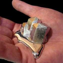 Metal That Melts In Hand