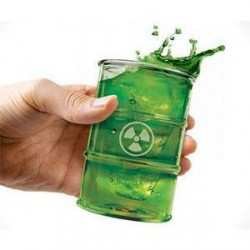Radioactive Waste Drinking Cup